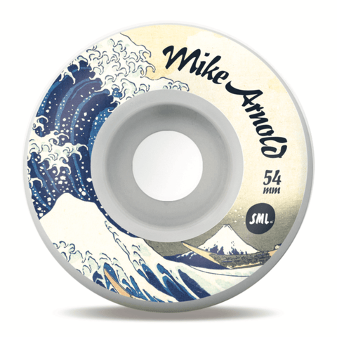 Buy SML. Wheels Mike Arnold 'Big Wave' V-Cut XL Wheels 54 MM 99 A. See more Wheels? Fast Free delivery and shipping options. Buy now pay later with Klarna or ClearPay at checkout. Best for Skateboarding Wheels in the UK at Tuesdays Skateshop, Bolton. Greater Manchester, UK.