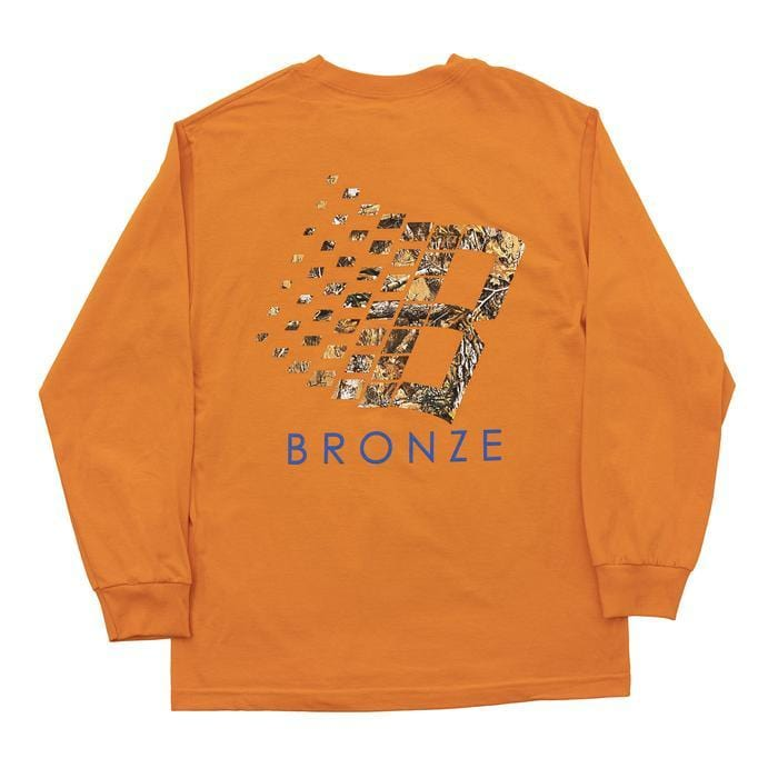 Buy Bronze 56k B Logo Tree Longsleeve T-Shirt Orange. 100% Cotton construct. Front and back print detailing. Elasticated cuffs. Regular cut/fit. For further information on any of our products please feel free to message. Fast Free UK Delivery, Worldwide Shipping. Best range of Bronze56k in the UK.