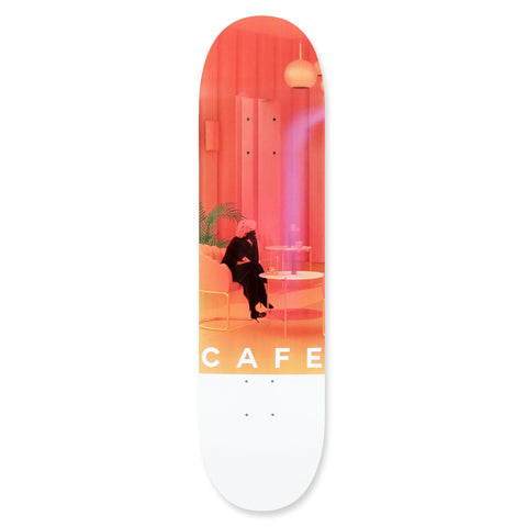 "Buy Skateboard Cafe Unexpected Beauty Skateboard Deck 8"" All decks come with free jessup grip and next day delivery, please specify in notes if you would like grip applied or not. Browse all decks 