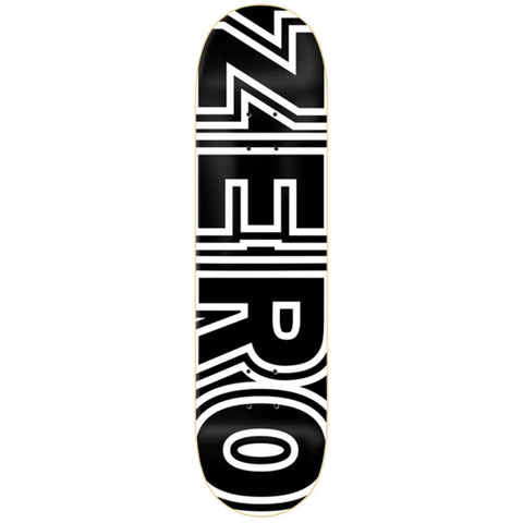 "Buy Zero Skateboards Classic Bold Skateboard Deck 8.5"". All decks are sold with free Jessup grip tape, please specify in the notes if you would like it applied or not. For further information on any of our products please feel free to message. Fast Free Delivery and Shipping. Buy now pay later with Klarna and ClearPay payment plans. Tuesdays Skateshop, UK."