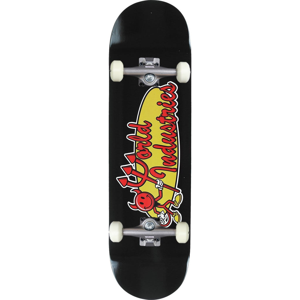 "Buy World Industries Devilman 'Classic' Complete Skateboard 8"" (Hanger trucks) 52 MM 99 DU Wheels Abec 5 Bearings. Ideal for a first timer or the more intermediate skateboarding. Ideal for a first timer or the more intermediate skateboarding. #1 for getting rolling in the UK. Buy now pay later with Klarna & Clearpay. Fast Free Delivery/Shipping options. Tuesdays Skateshop 