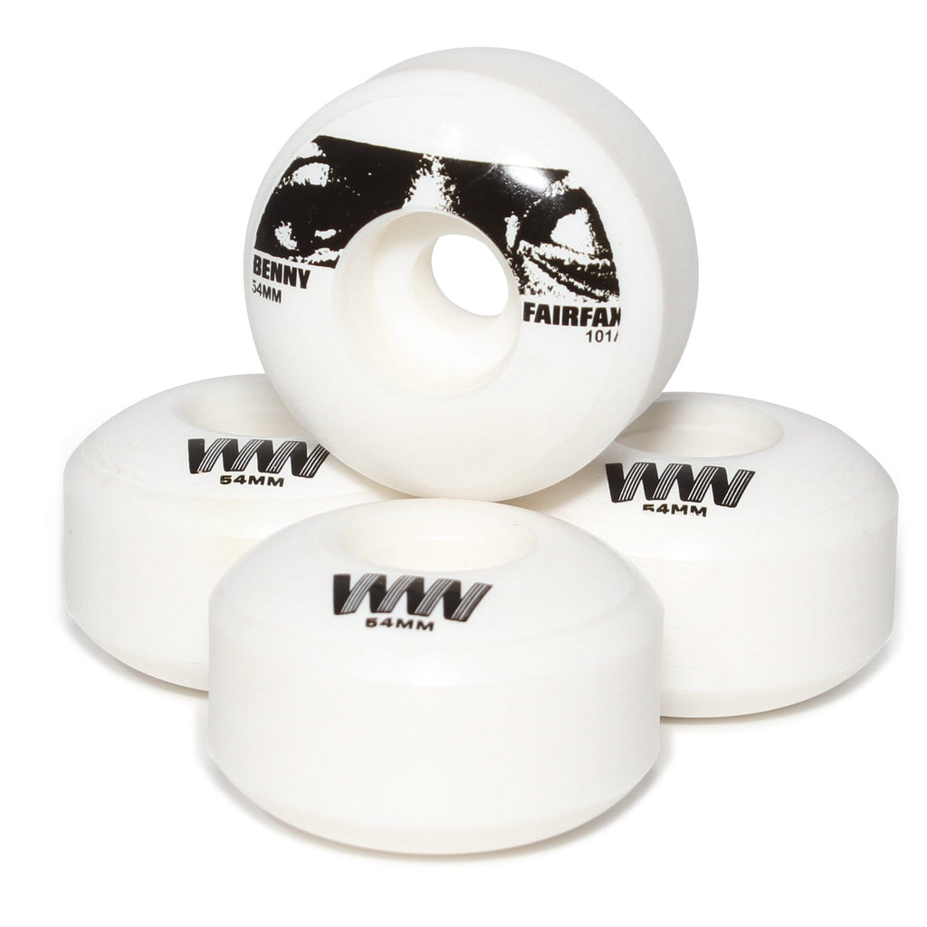 Buy Wayward Wheels Co. Funnel Pro Benny Fairfax Skateboard Wheels. 54 MM 101A. Funnel Shape. Benny Fairfax Pro. See more Wheels? Buy now Pay Later with Klarna and ClearPay payment Plans. Tuesdays Skateshop, Best for skateboarding wheels UK. Bolton, Greater Manchester.