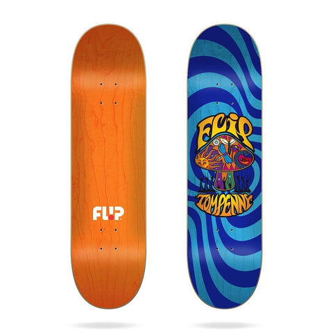 "Buy Flip Skateboards Penny Loveshroom Skateboard Deck. 8"" X 31.5"" Wheelbase : 14"" Pressed and Printed in Spain. Carry over Tom Penny Pro model. See more Decks? Fast Free delivery and shipping options. Buy now Pay later with Klarna and ClearPay playment plans at Checkout. Tuesdays Skateshop, Greater Manchester, Bolton, UK."