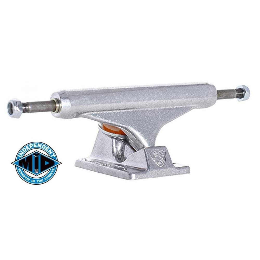 "Buy Independent Truck Co. 144 MM Stage 11 Mid Raw Skateboard Trucks (PAIR) Suitable for decks 139 mm - 8.2"" - 8.375"" Designed, made and tested in the USA the stage 11 is a peoples favourite.Fast Free delivery and shipping options. Buy now pay later with Klarna and ClearPay at checkout, Payment plans. Tuesdays Skateshop, Greater Manchester. Bolton, UK."