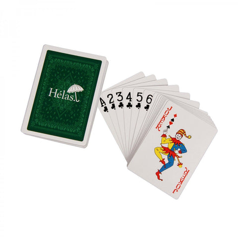 Buy Helas Playing Cards. 54 Pack. Helas detailing w/ Custom box. See more Helas? Click here. Fast Free UK & EU Delivery options, Worldwide Shipping. Best for Helas Clothing & Accessories in the UK. Tuesdays Skateshop UK.