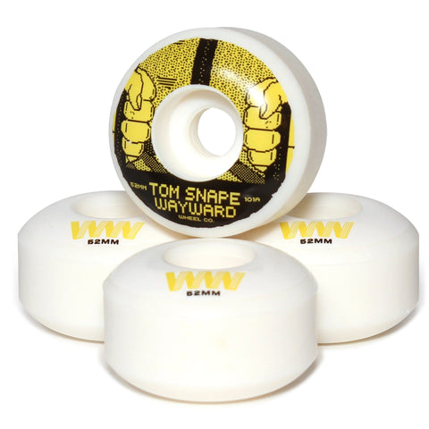 Buy Wayward Wheels Co. Classic Pro Tom Snape Skateboard Wheels 52 MM 101A. Classic Shape. Tom Snape Pro. See more Wheels? Buy now Pay Later with Klarna and ClearPay payment Plans. Tuesdays Skateshop, Best for skateboarding wheels UK. Bolton, Greater Manchester.