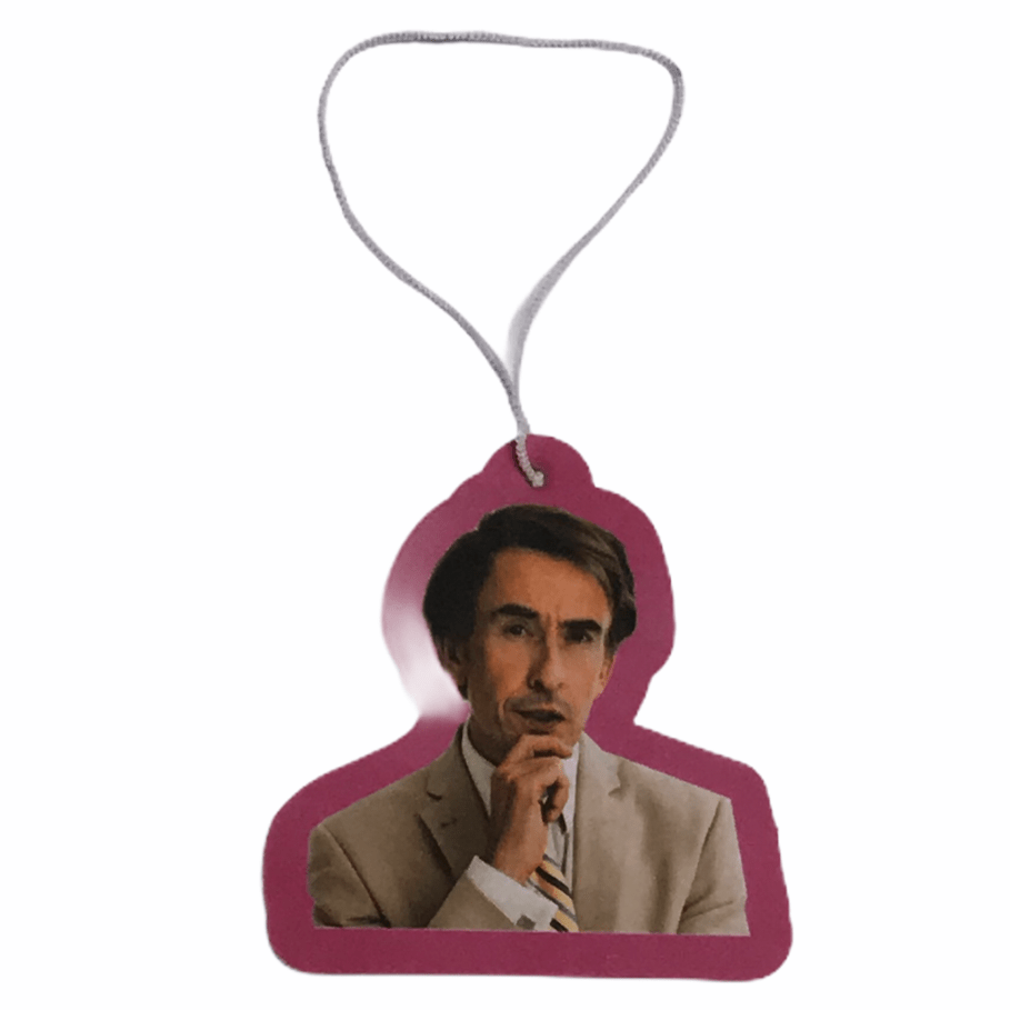 Buy Alan Partridge Car Air Freshener - New Car Scent (Fresh Linen) Scented aroma. Long lasting cherry aroma. Elasticated string pulley for adjusting to car interior. Shop all the latest? Fast free UK delivery with Quick Worldwide shipping.
