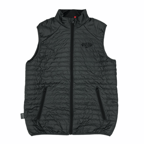 Buy Tuesdays Exploration Thermolite Bodywarmer Grey. Tuesdays Exploration embroidered detail on left of chest. 100% Polyester outer shell w/ DuPont recycled polyester fill (140g/m²).  Fast Free Delivery and Shipping options. Buy now pay later with Klarna and ClearPay at checkout. Tuesdays Skateshop, Bolton. Greater Manchester, UK. Skateboarding Body Warmers and Gilets.