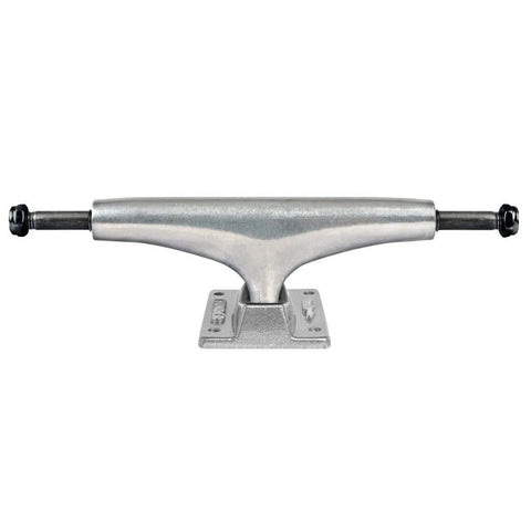"unmatched levels of strength and control. Fits decks from 8.38""-8.62"". Lifetime guarantee honoured by Thunder. For further information on any of our products please feel free to message. Thunder Hi Team Trucks Polished Silver in 149 mm Lightweight design truxs trux truks trucs trucks truck thunder trucks thunder skateboard deck decks boards"