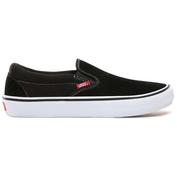 a1e90921a8 Vans Slip-On Pro Shoe Black White Gum – Tuesdays Skate Shop