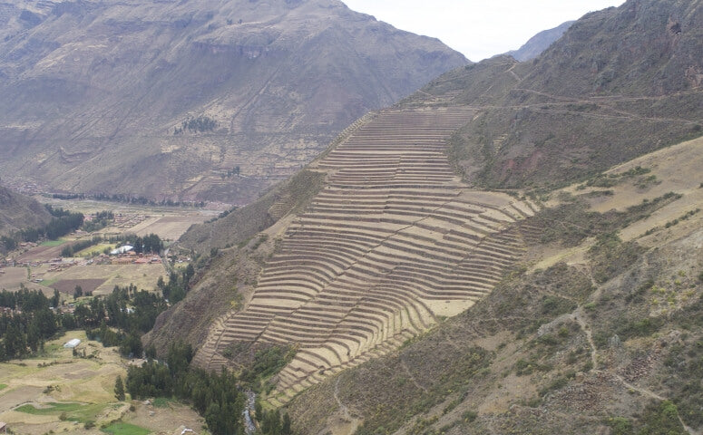 Pisac ruins and terraces Sacred Valley Cusco