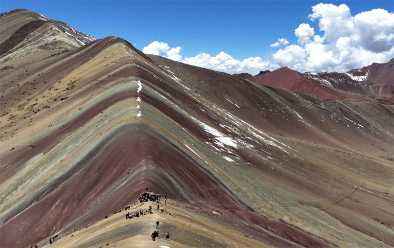Rainbow Mountain Vinicunca Cusco