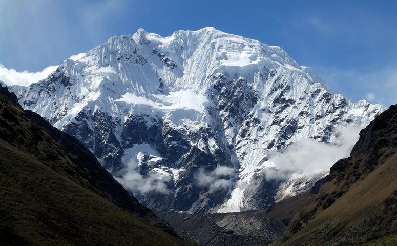 Snow-capped Salkantay mountain