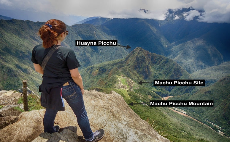 View from the Machu Picchu Mountain
