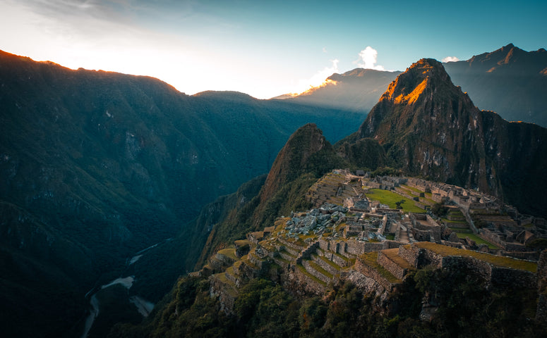 View on the Machu Picchu