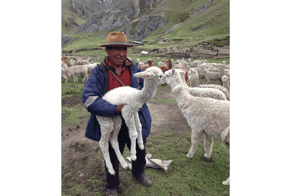 Visit local community social project Cusco Peru