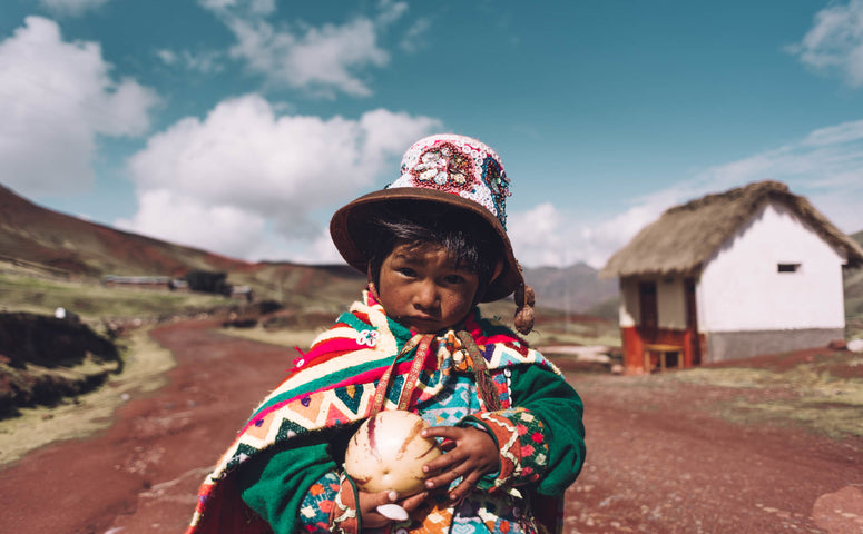 Little Kid from the Palccoyo Community
