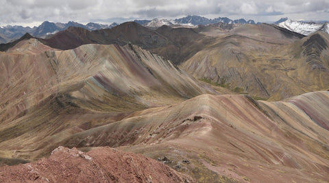 alternative rainbow mountain cusco exploor