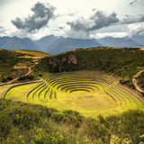 Moray ruins during Sacred Valley tour