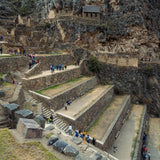 Ollantaytambo ruins in the Sacred Valley