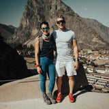 Couple at Ollantaytambo ruins