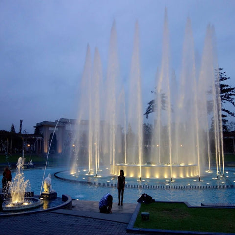 Photo Magic Water Fountain Park Lima exploorperu
