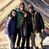 Group at Rainbow Mountain Vinicunca