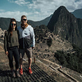 Couple at Machu Picchu