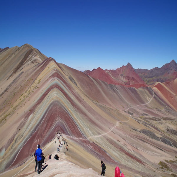 Photo Vinicunca Rainbow Mountain Cusco Exploor Peru