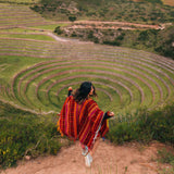 Girl at Moray in the Sacred Valley Tour