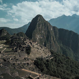 Machu Picchu ruins from viewpoint