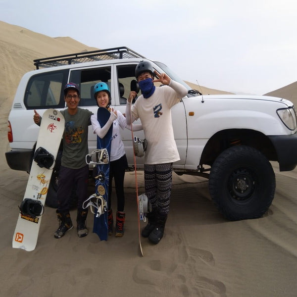 Photo Sandboarding and Jeep Tour Desert Lima Peru exploor