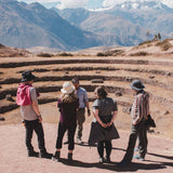Group at Moray during Sacred Valley day tour
