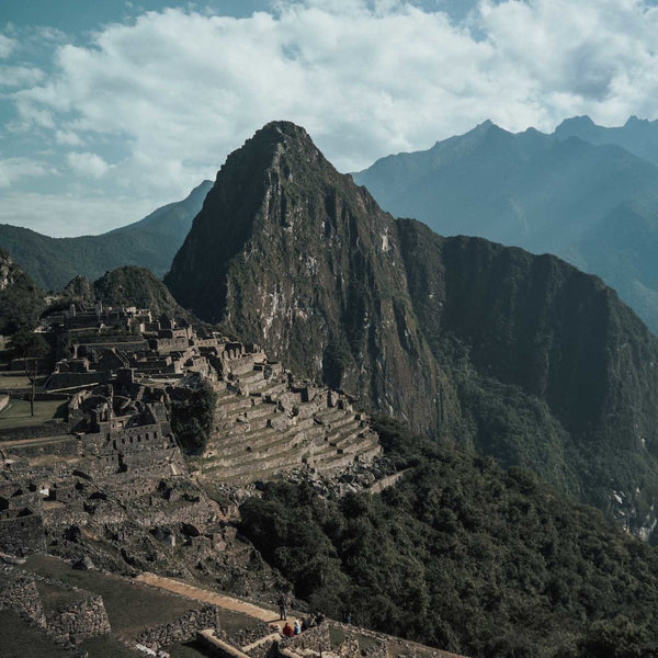 Machu Picchu view during Inca trail