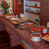 Buffet at heliconia lodge iquitos