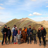 Small group tour at Palccoyo rainbow mountain