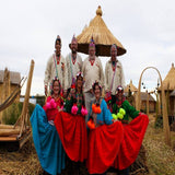 Photo Homestay Tour Floating Islands of Uros Puno Titicaca Lake Peru exploor