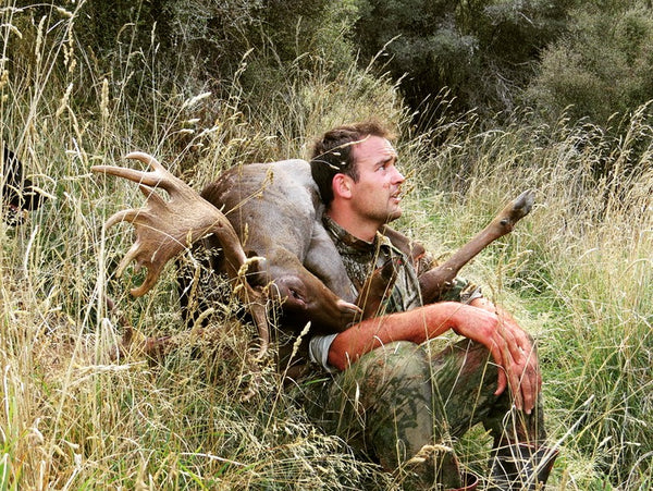 fallow buck carry new zealand style