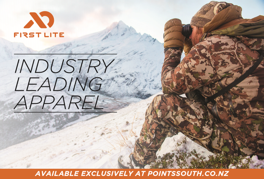 First Lite industry leading apparel advert