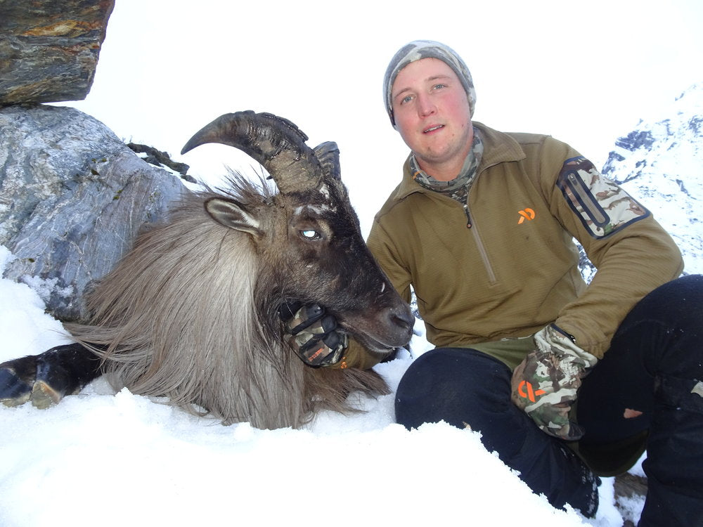 old bull tahr new zealand first lite