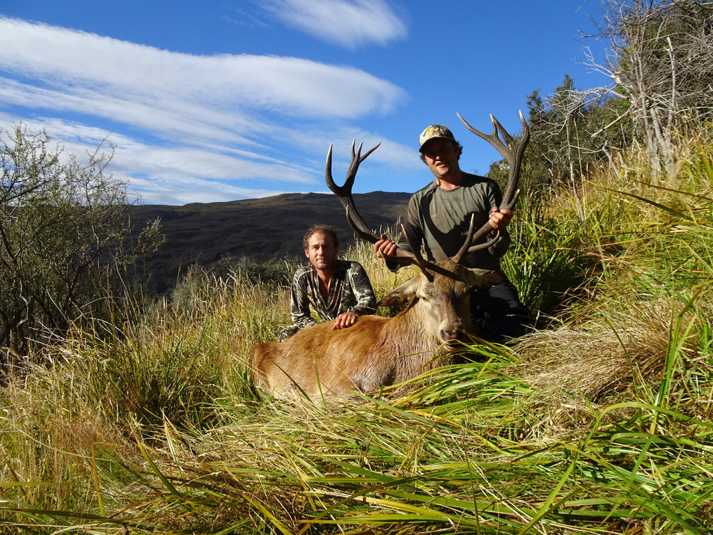 Classic otago red stag hunting New Zealand First Lite