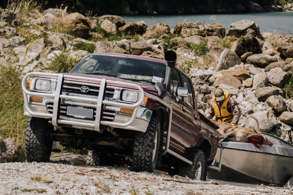 Toyota Hilux hunting hunters journal
