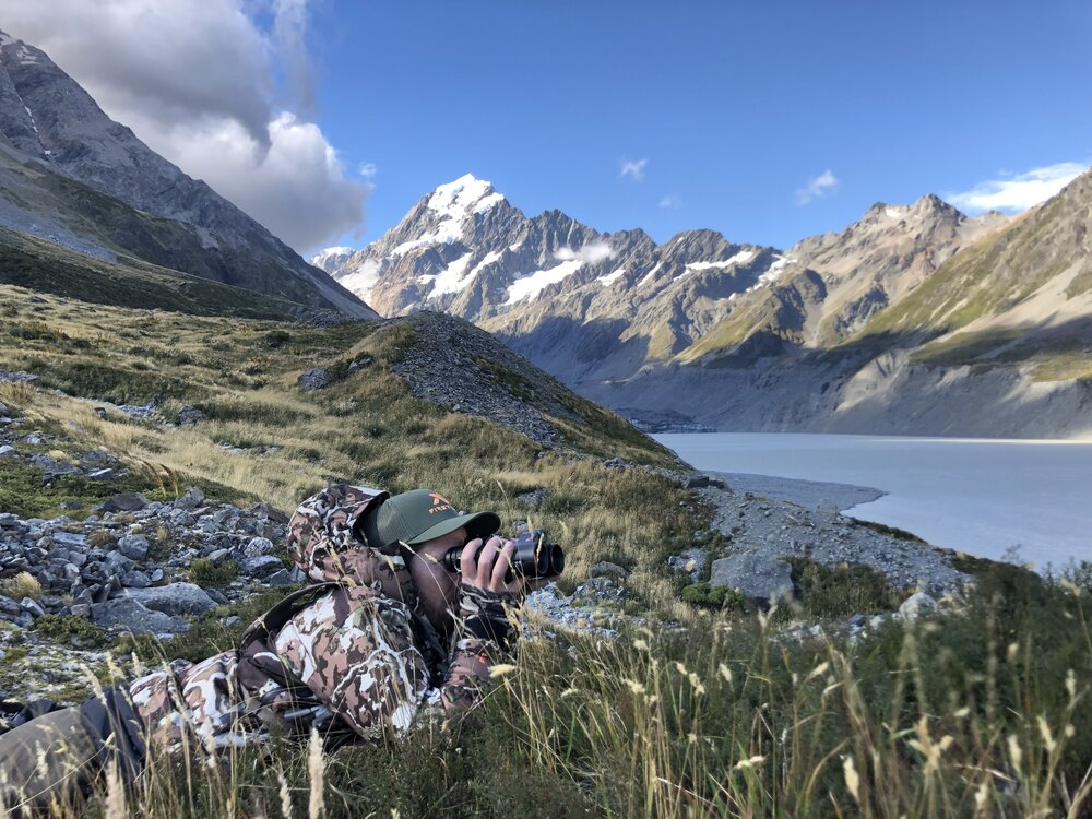 tahr hunting new zealand first lite