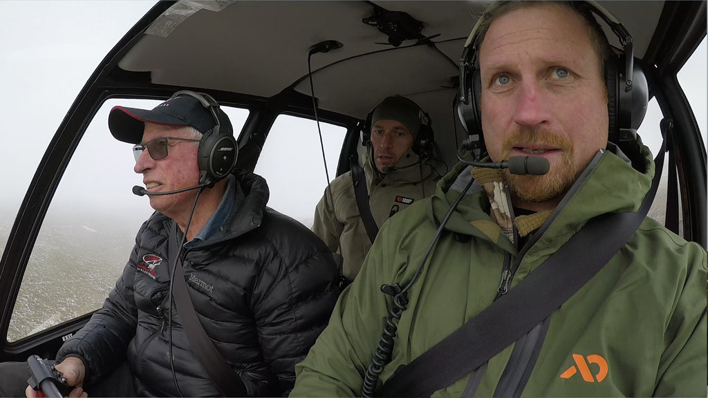 Fly in with Wanaka Helicopters
