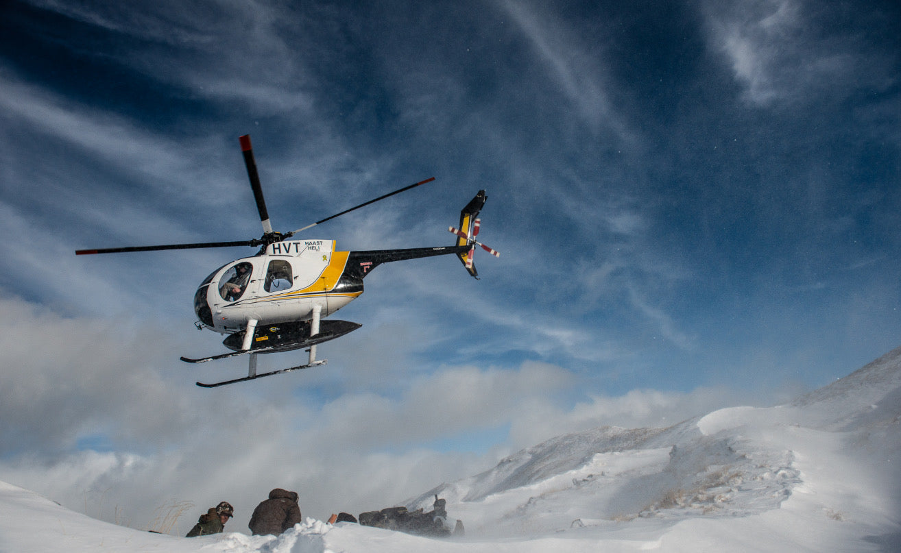 Haast Helicopters tahr hunting