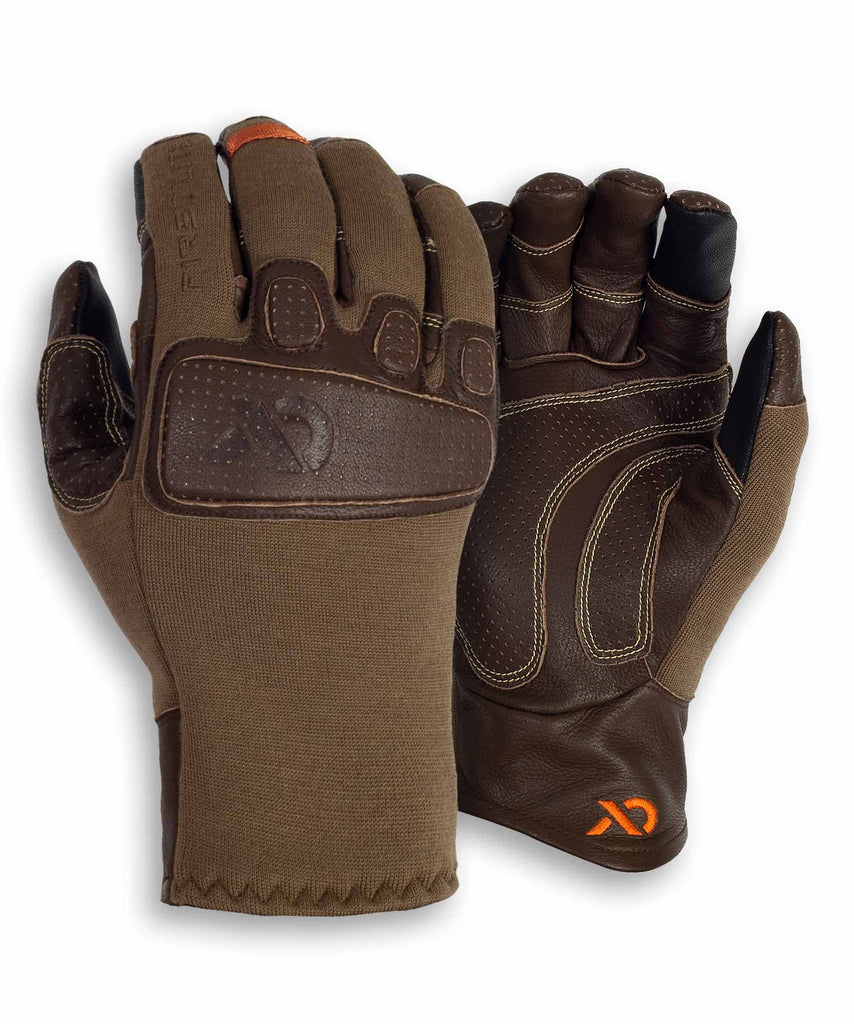 First Lite Shale Touch Hybrid Glove dry earth