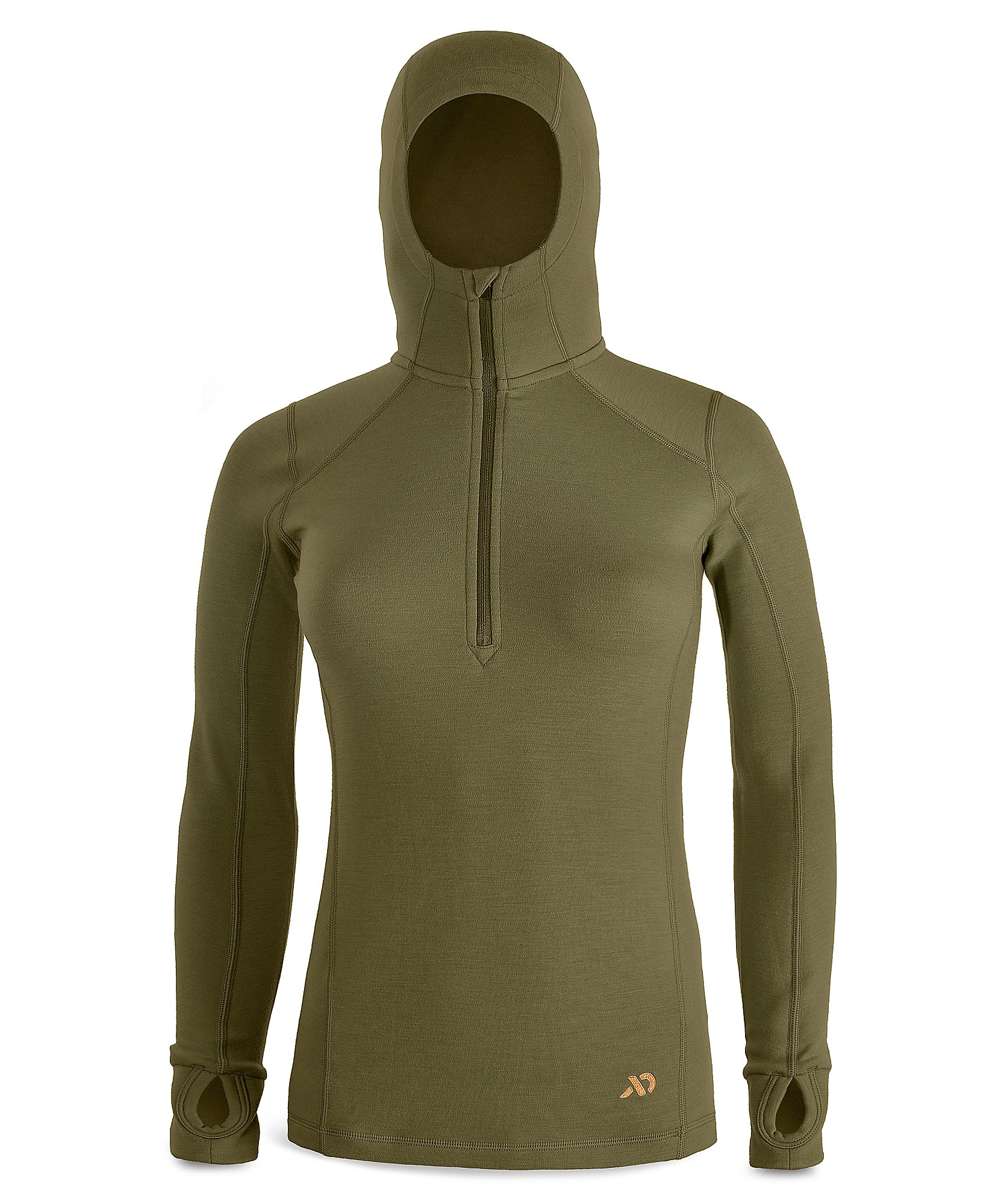 First Lite Women's Kiln Hoody conifer