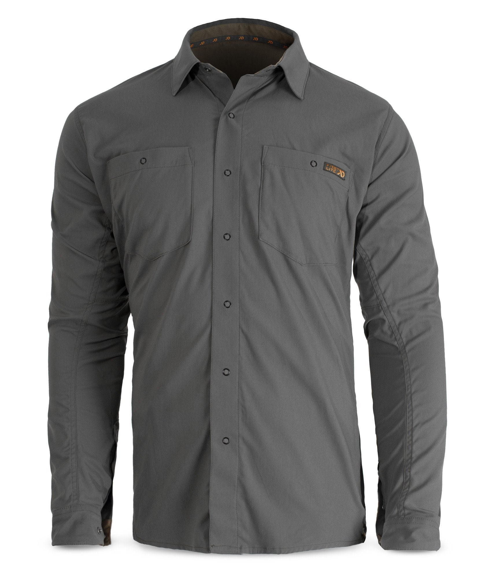First Lite Ranger Stretch Snapshirt ash grey
