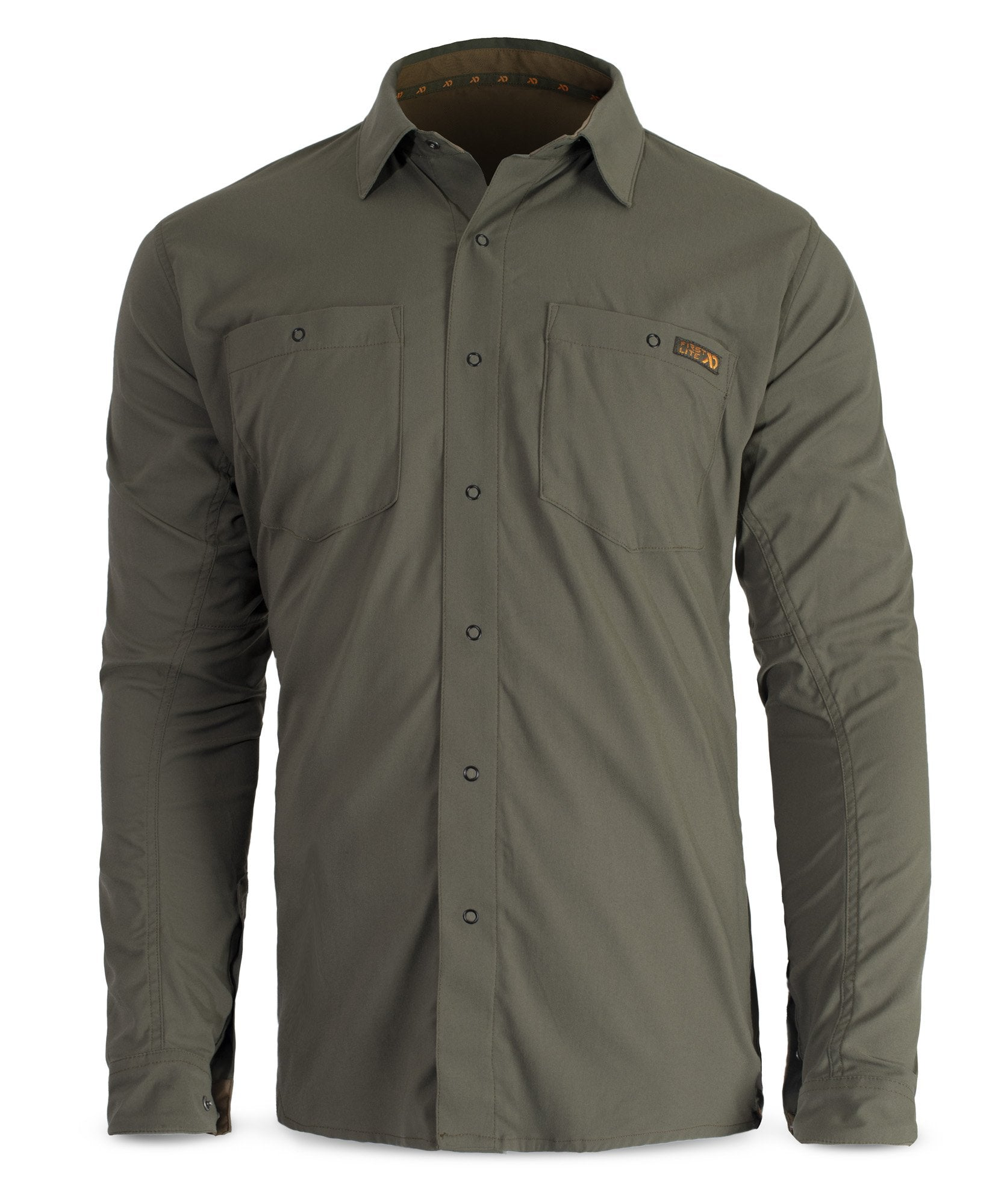 First Lite Ranger Stretch Snapshirt conifer
