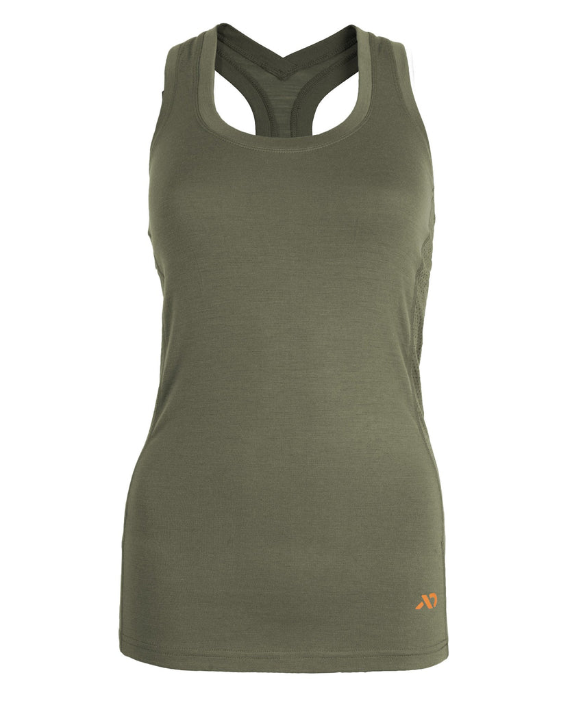 First Lite Women's Wick Tank conifer